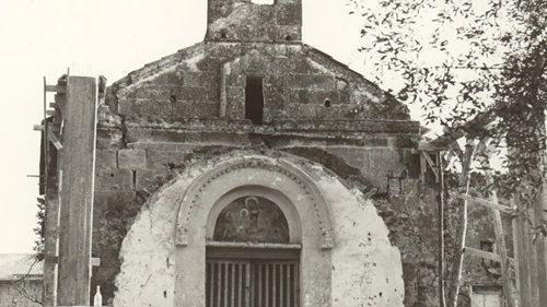 La prima piccola chiesa del Casale di Pignataro: la chiesetta di Grazzano