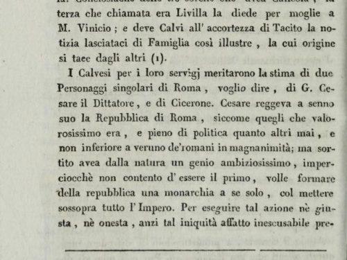 """Perché il canonico Penna firmò con il  nome di Mario Pagano"""" le """" Dissertazioni sull'Antica Calvi"""""""